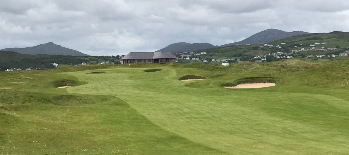 Ballyliffin- Glashedy Links- hole 18