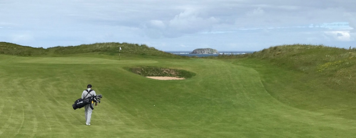 Ballyliffin- Glashedy Links- hole 5 Nigel