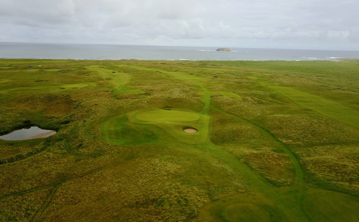 Ballyliffin- Glashedy Links: hole14
