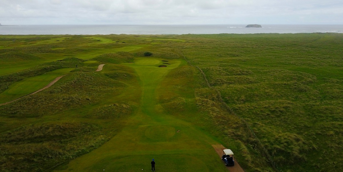 Ballyliffin- Glashedy Links: hole 5