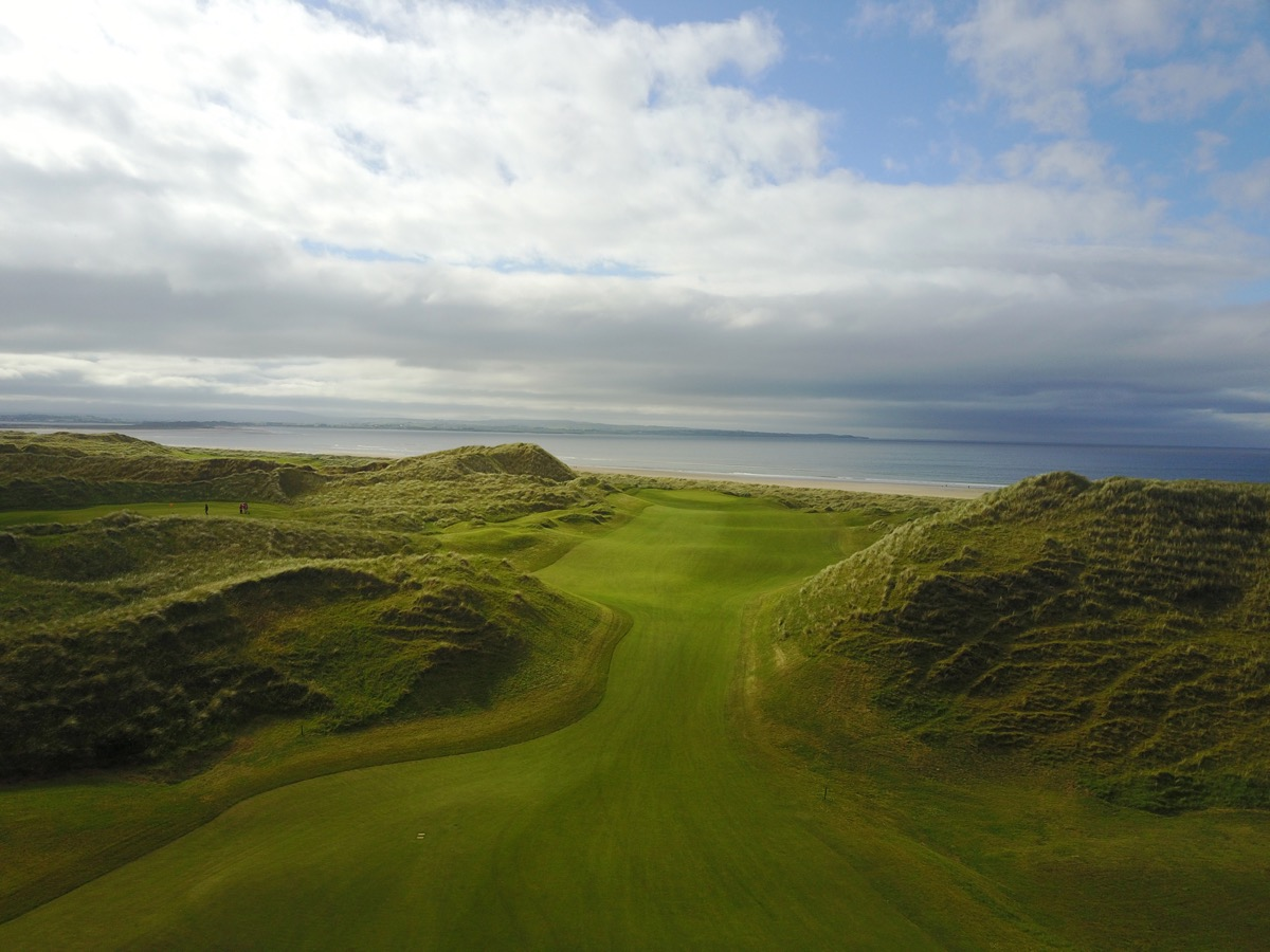 Enniscrone GC- hole 2 drone