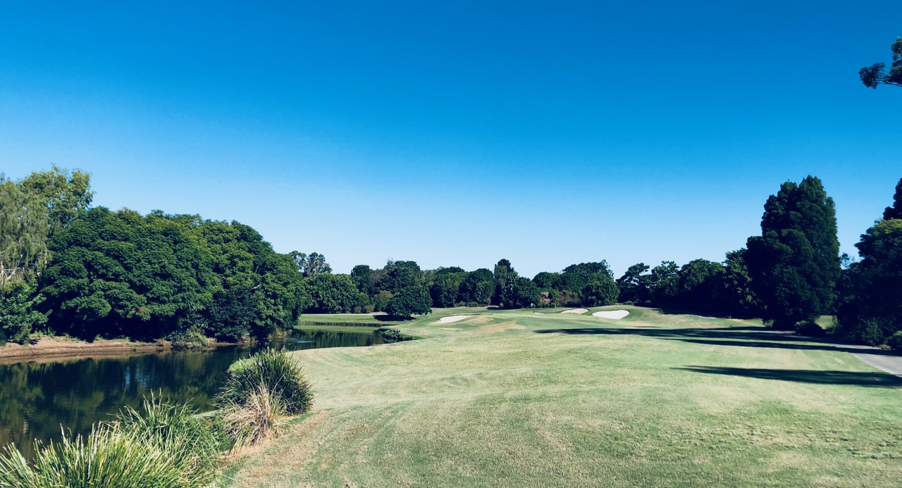 Indooroopilly GC-  Red-  hole 8