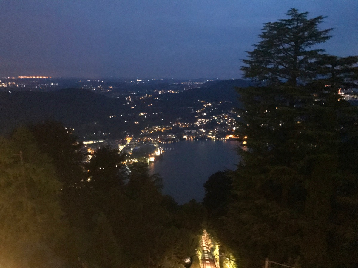 Lake Como- funicular view
