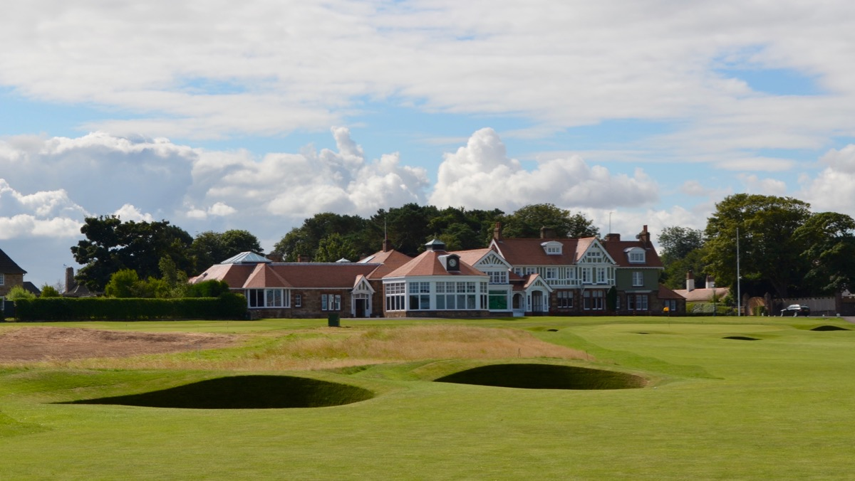 Muirfield- 18th hole clubhouse