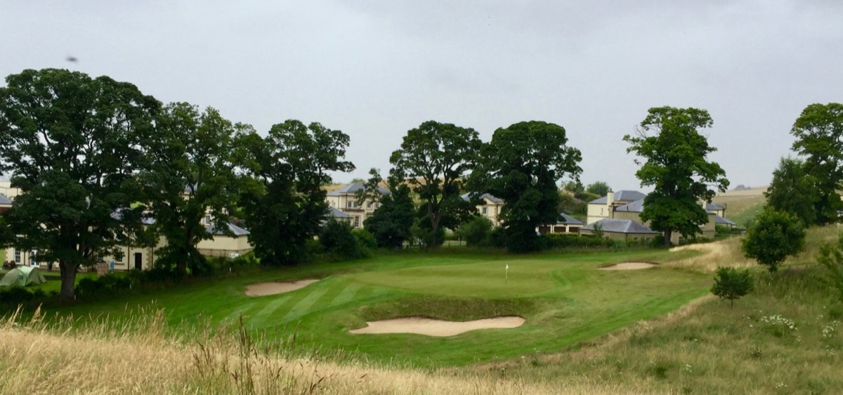 Roxburghe hotel & golf course- hole 17
