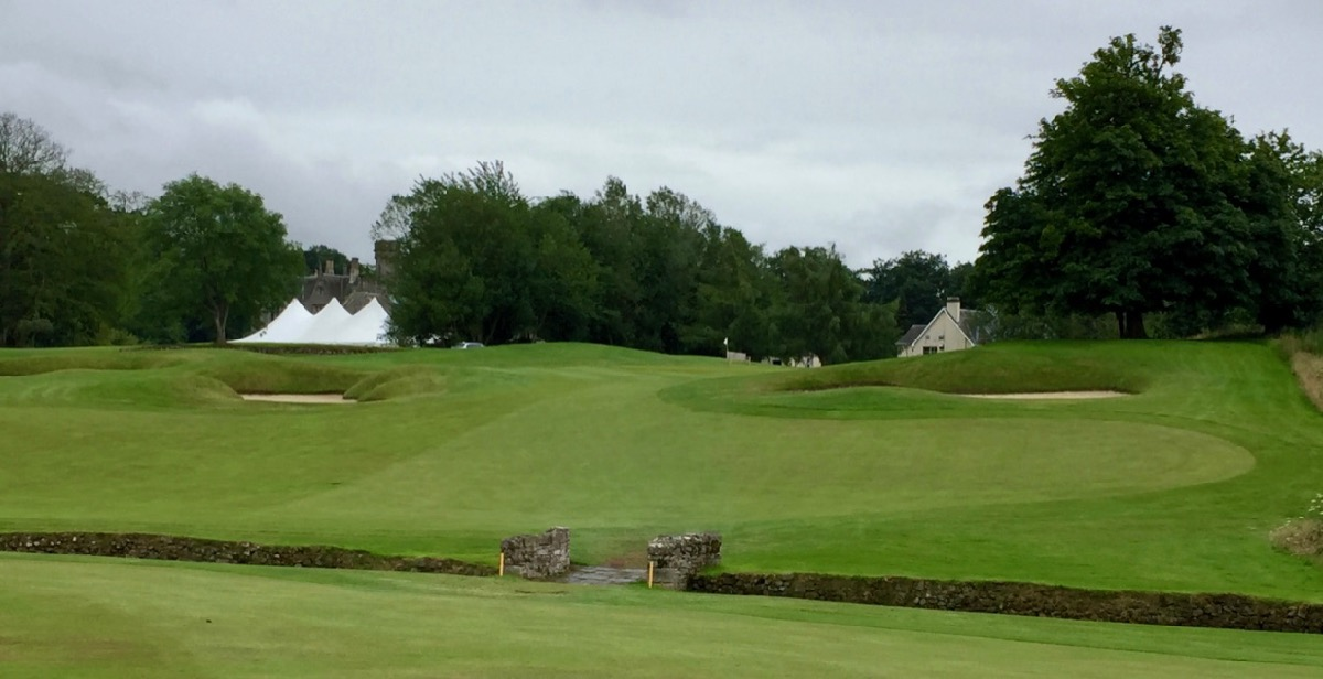 Roxburghe Hotel & Golf course- hole 18