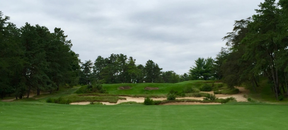 Pine Valley- hole 2 approach