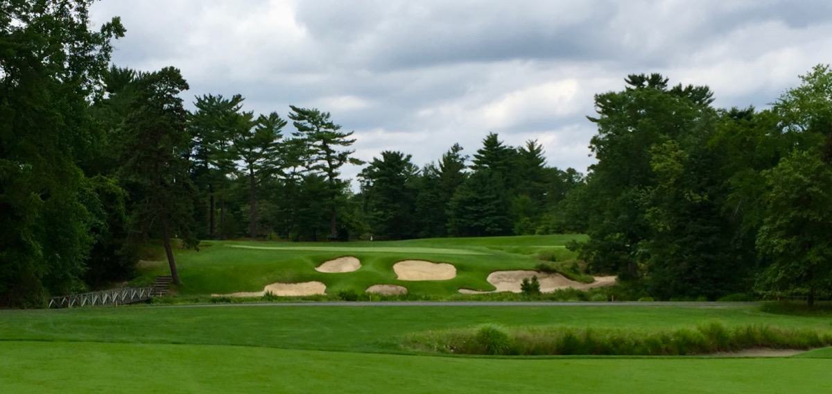 Pine Valley- hole 18 approach