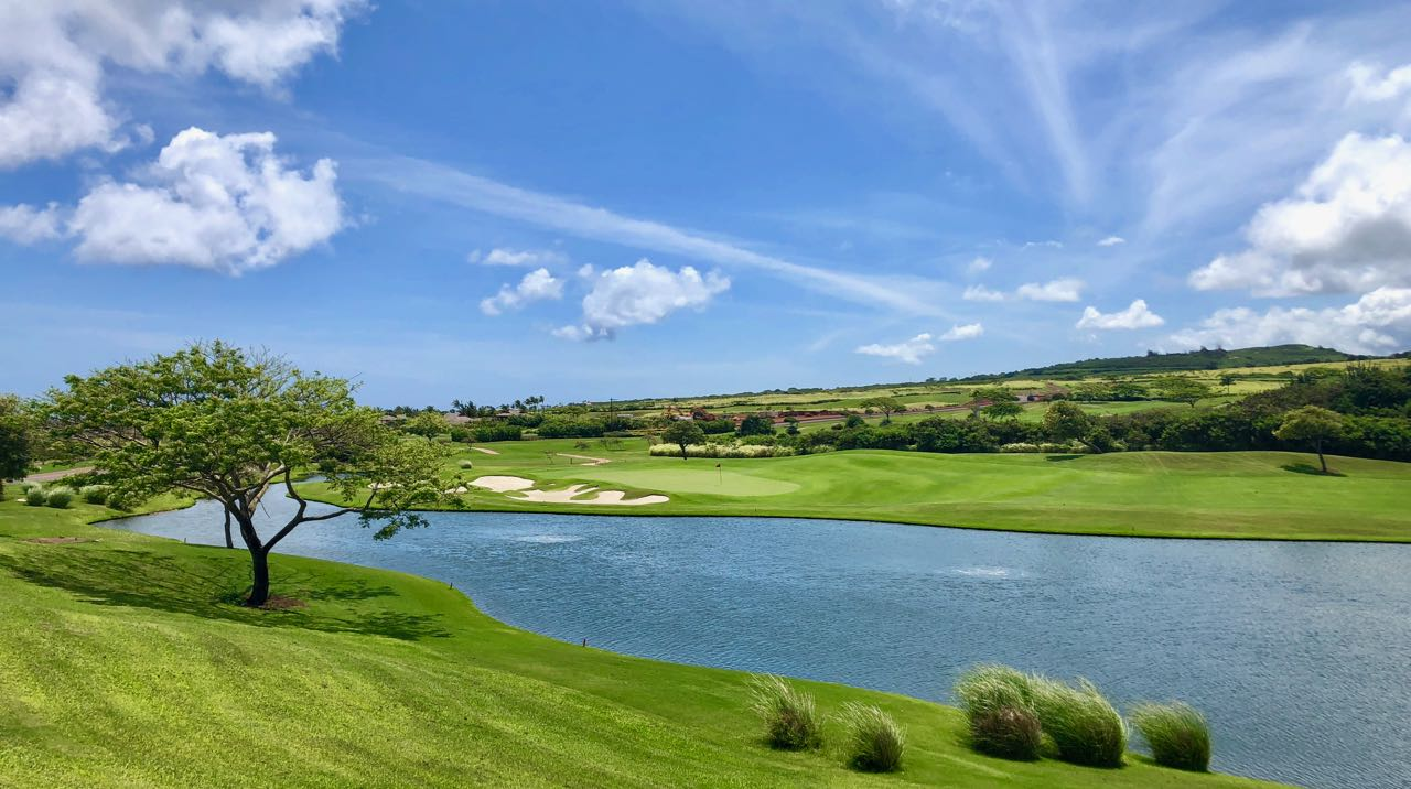The Club at Kukuiula- hole 6 from 5