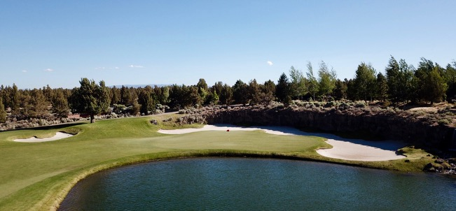 Pronghorn Resort- Nicklaus course- hole 13