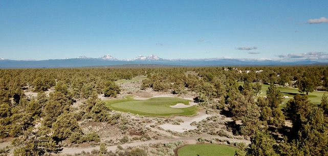 Pronghorn Resort- Nicklaus course- hole 14