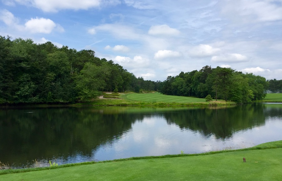 Pine Valley GC- Hole 15- tee shot