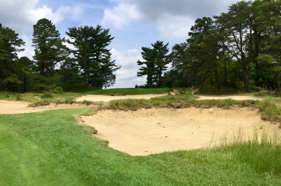 Pine Valley GC- Hole 17- approach shot