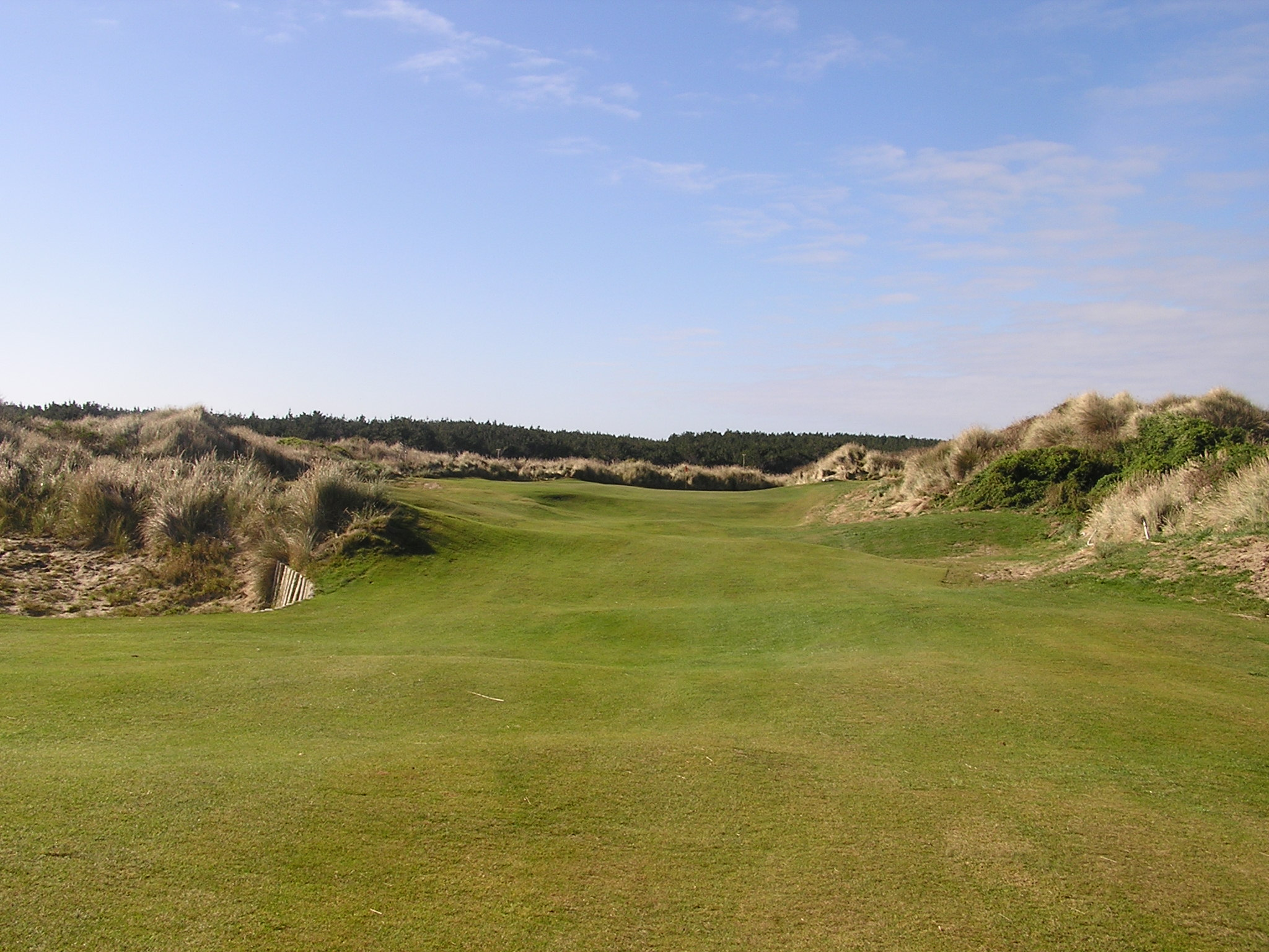 Oreti Sands Golf Links-  2nd hole